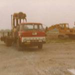 Eerste vrachtwagen Van Trigt - De Wit